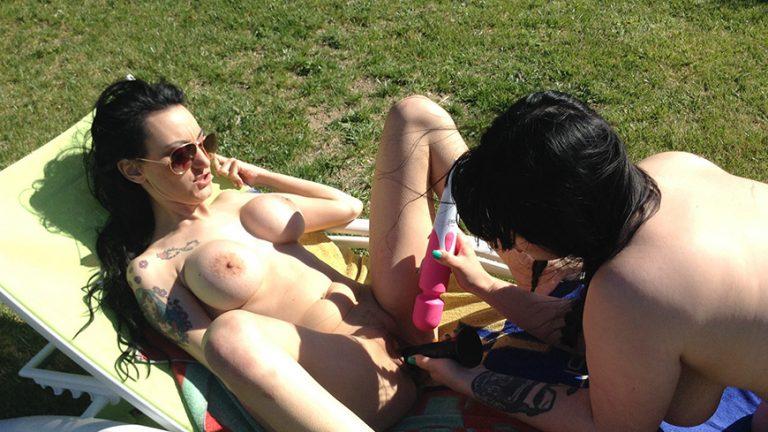 Lesbian Summer: Pool, Sex & Toys VR Porn