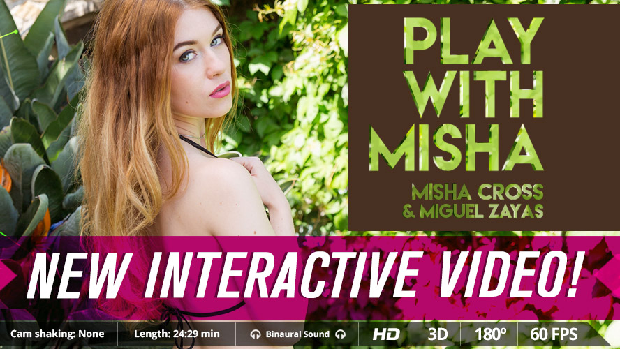 Play With Misha VR Porn