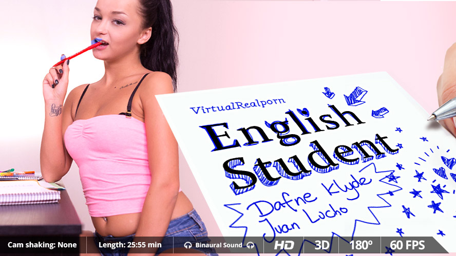 English Student VR Porn