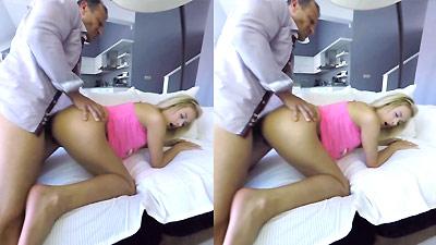 Three girls one cock VR Porn