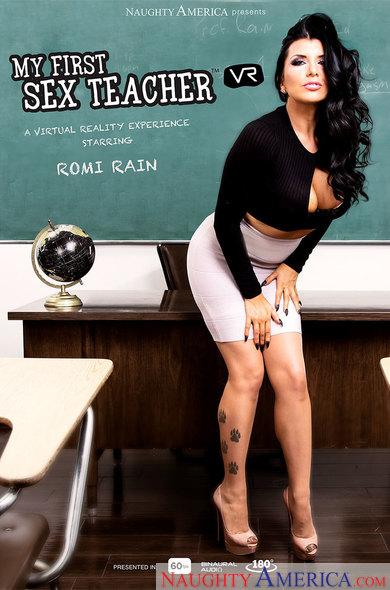 Romi Rain In My First Sex Teacher VR Porn