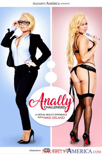 Nikki Delano in Anally Challenged