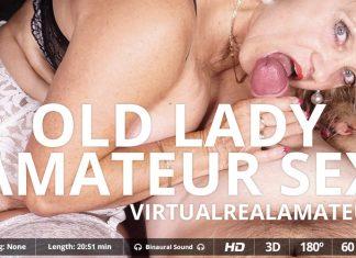 Old lady amateur sex