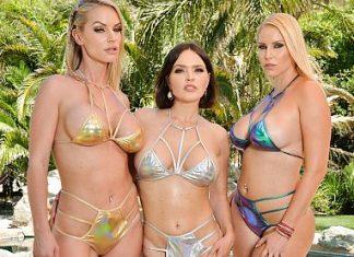 "Krissy Lynn, Rachael Cavalli, Vanessa Cage in ""Summer Vacation 12"""