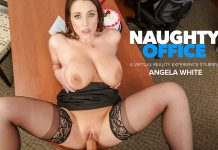 "Angela White in ""Naughty Office"""