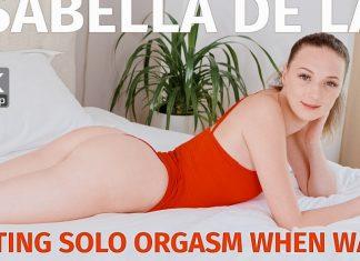 Getting solo orgasm when waiting